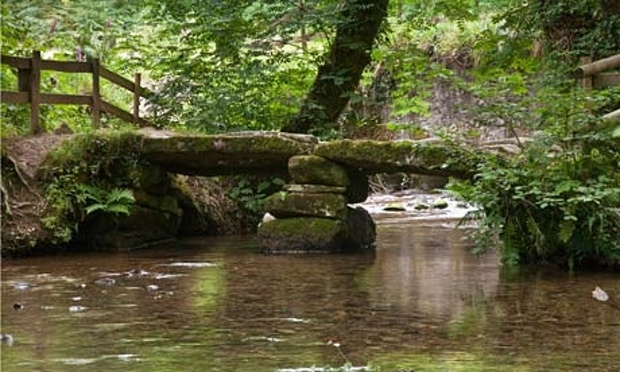 Cardinham Woods packhorse bridge, nice walks and mountain biking